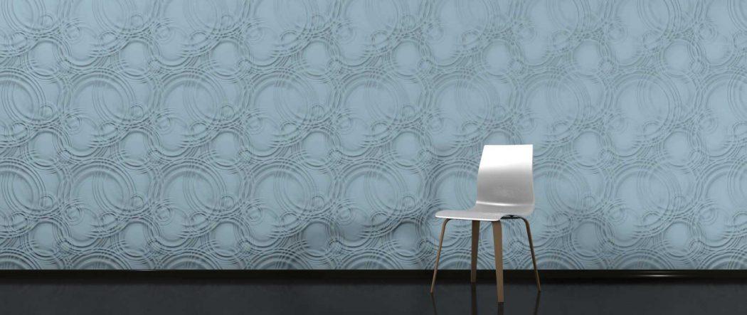 Panou decorativ 3D perete AQUA