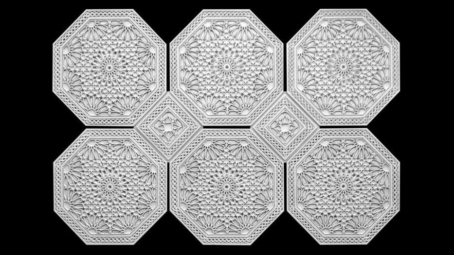 Panou decorativ 3D perete ARABIC 2 model 20