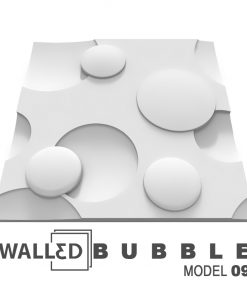 Panou decorativ 3D perete BUBBLE