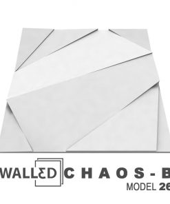 Panou decorativ 3D perete CHAOS B