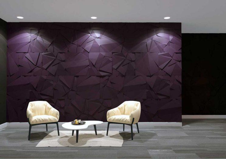 Panou decorativ 3D perete CHAOS S