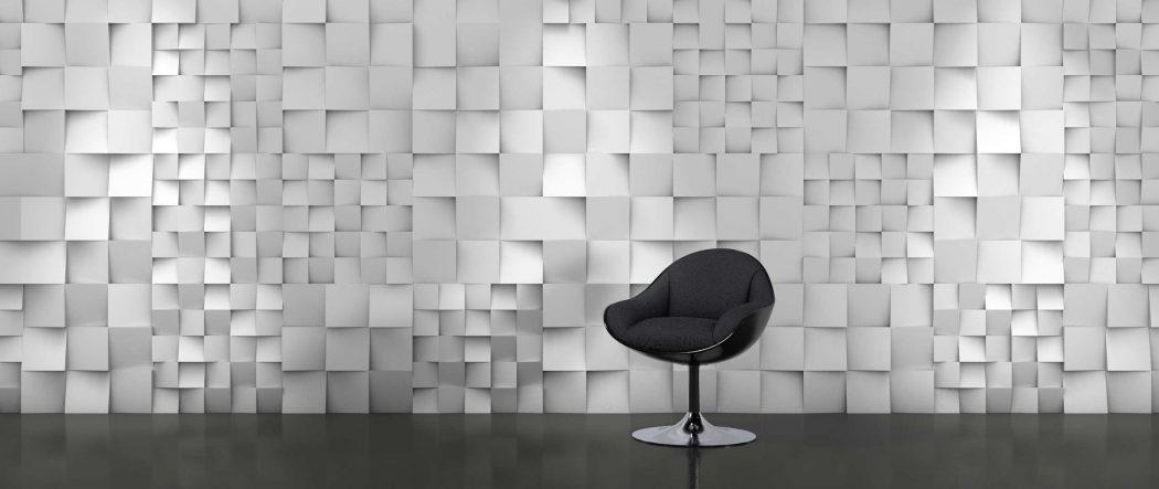 Panou decorativ 3D perete DICE B
