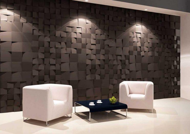 Panou decorativ 3D perete DICE S