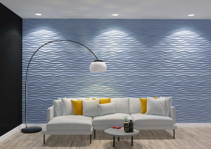 Panou decorativ 3D perete DUNE