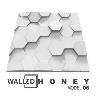 Panou decorativ 3D perete HONEY