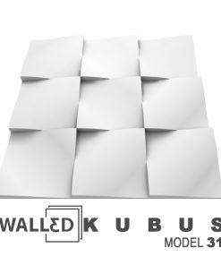 Panou decorativ 3D perete KUBUS