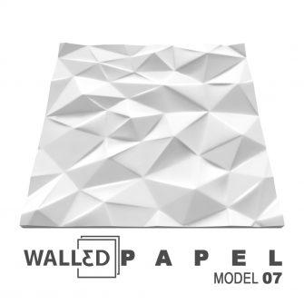 Panou decorativ 3D perete PAPEL