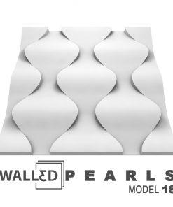 Panou decorativ 3D perete PEARLS