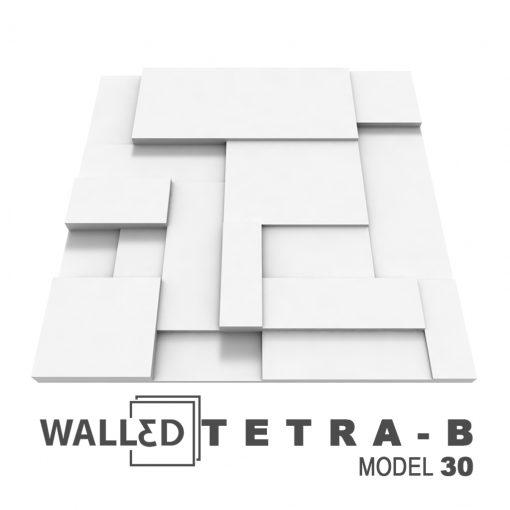 Panou decorativ 3D perete TETRA B