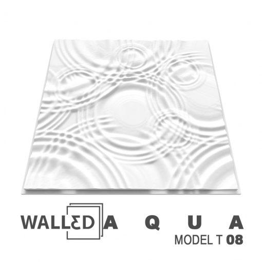 Placa decorativa 3D tavan AQUA
