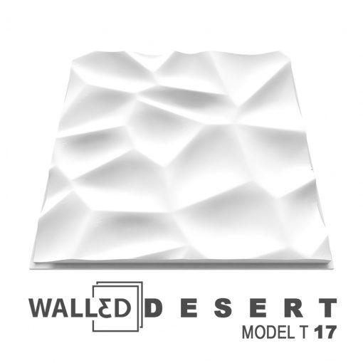 Placa decorativa 3D tavan DESERT