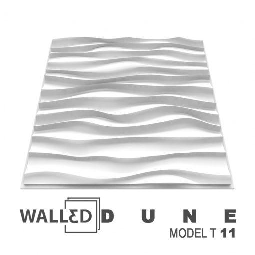 Placa decorativa 3D tavan DUNE