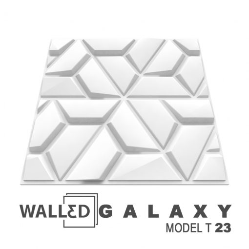 Placa decorativa 3D tavan GALAXY