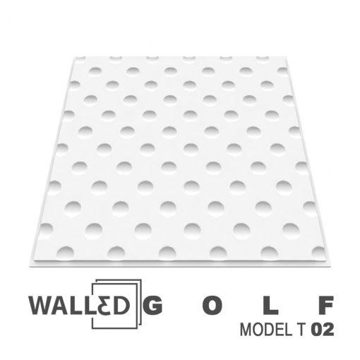 Placa decorativa 3D tavan GOLF