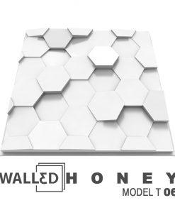 Placa decorativa 3D tavan HONEY