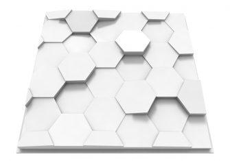 Placi decorative 3D tavan din ipsos