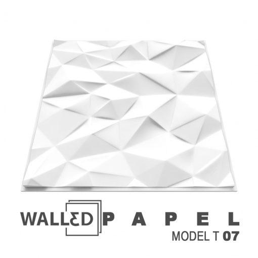 Placa decorativa 3D tavan PAPEL