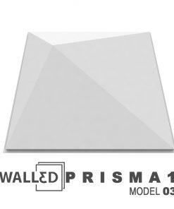 Placa decorativa 3D tavan PRISMA 1