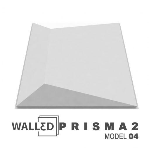 Placa decorativa 3D tavan PRISMA 2