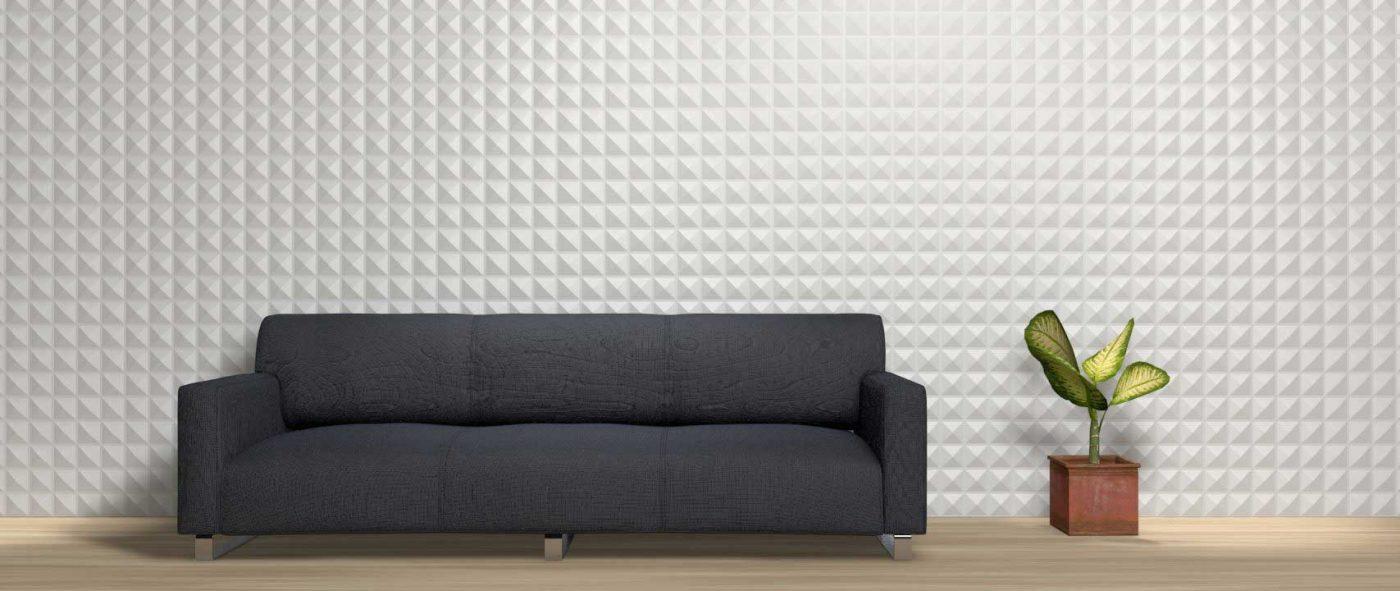 Panou decorativ 3D perete PIRAMID
