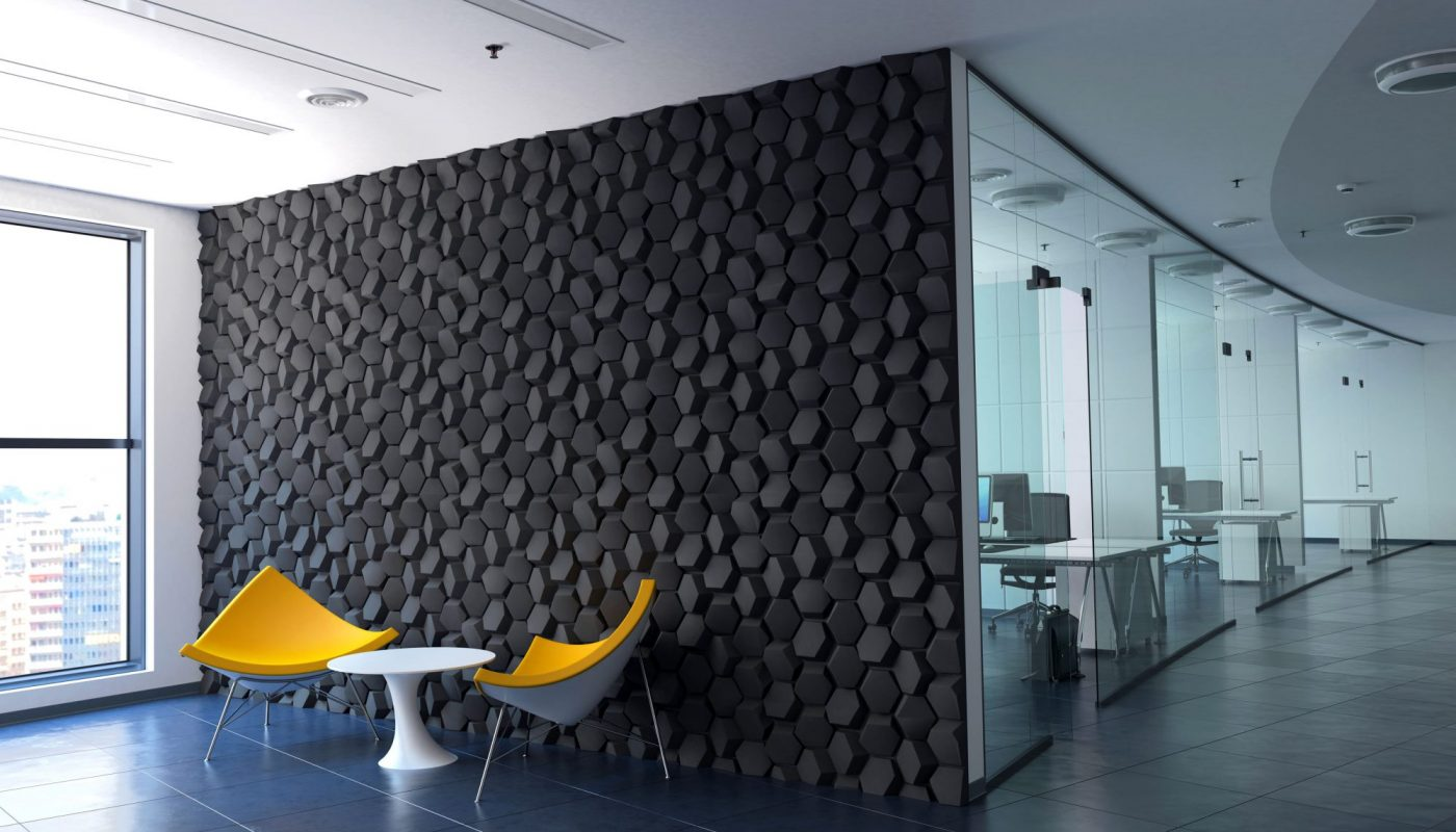 Panou decorativ 3D Hematite